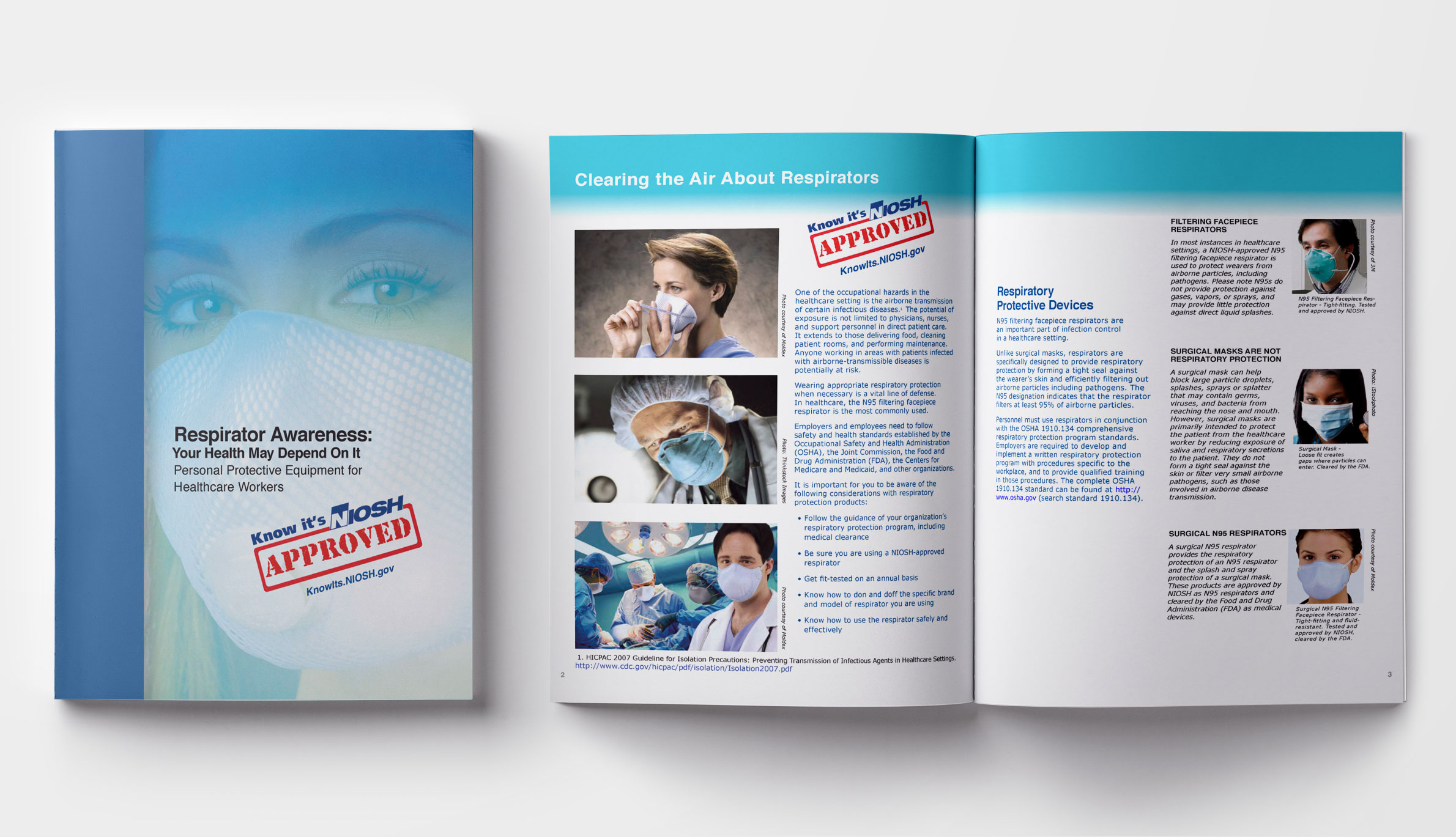 NIOSH Brochure Mockup