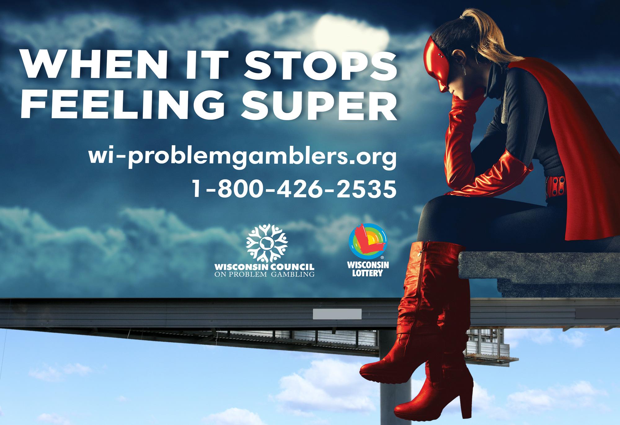 Wisconsin Lottery Billboard Mockup